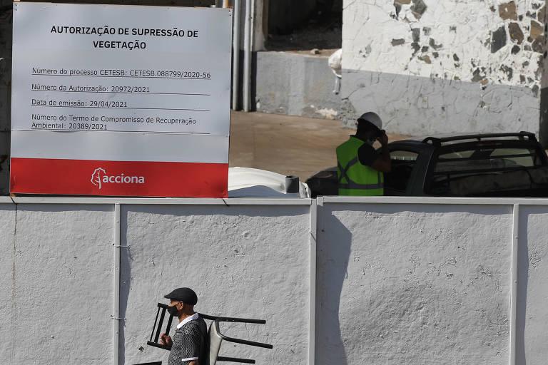 Prefeitura de São Paulo notifica concessionária por obra de futura estação de metrô