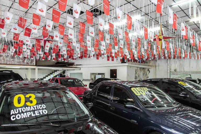 Venda de carros usados cresce e preços sobem acima da inflação
