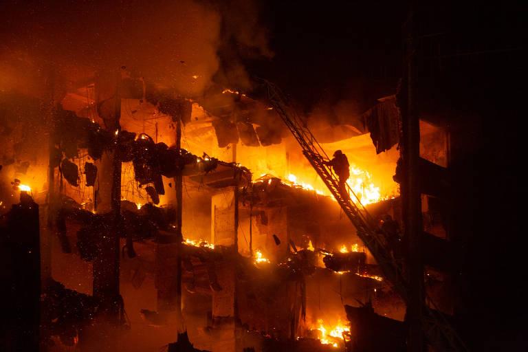 Incêndio atinge Secretaria de Segurança Pública no RS