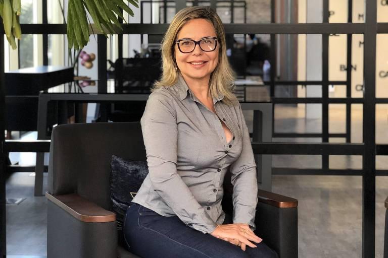 A empresária Regina Jordão, 61, fundadora da rede  de depilação feminina Pello Menos