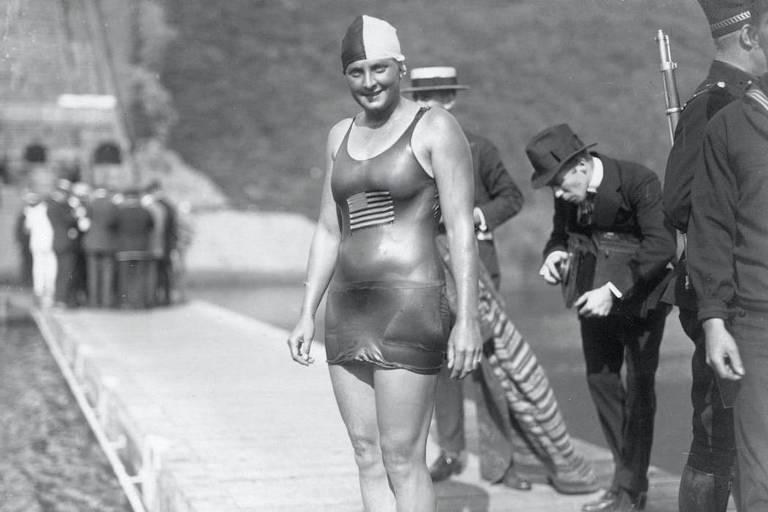 A norte-americana Ethelda Bleibtrey foi a grande destaque dos Jogos ao conquistar três medalhas de ouro na natação (100m, 300m e 4x100m livre), quebrando cinco recordes mundiais