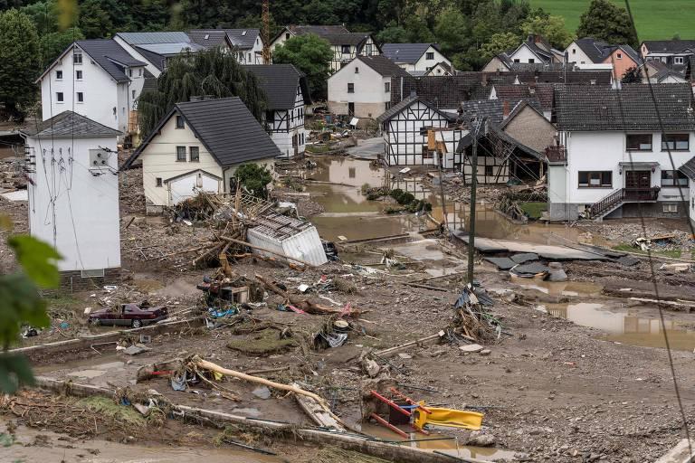Chuvas sem precedentes deixam 126 mortos na Europa e disparam alerta contra mudanças climáticas