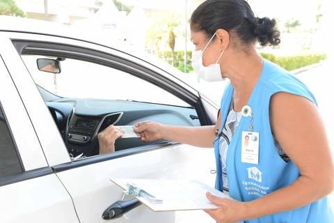 Vacinação no ShoppingAnáliaFranco
