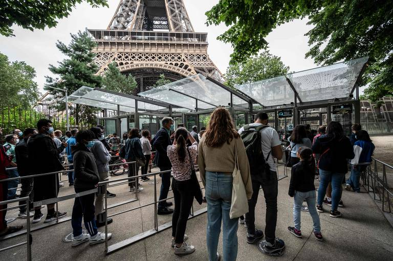 França libera entrada de turistas brasileiros completamente vacinados