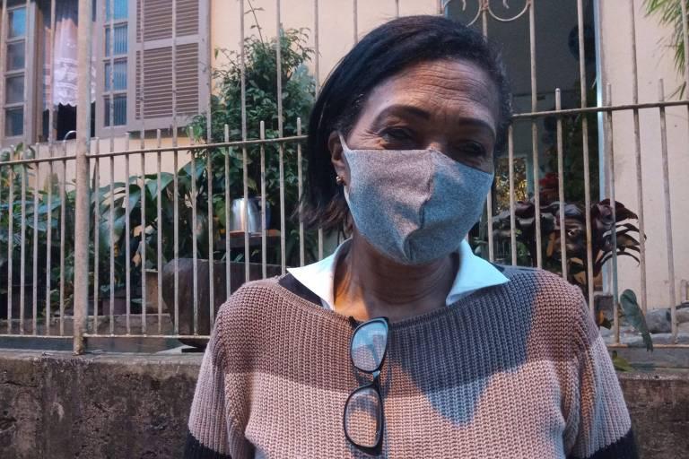 Líder comunitária ajuda na luta contra a fome em Florianópolis