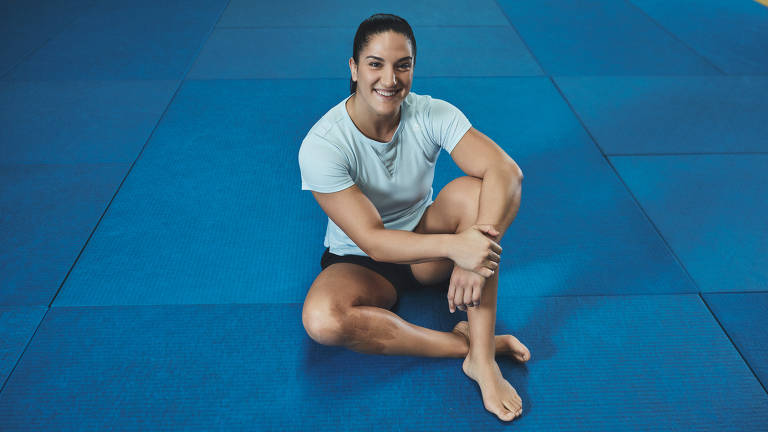 Mayra Aguiar, judoca brasileira classificada para os Jogos de Tóquio
