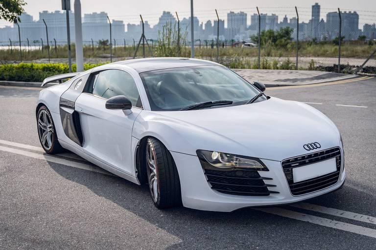 Audi branco