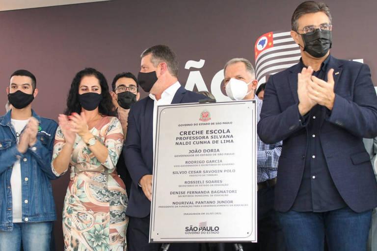Para pressionar Alckmin, vice de Doria veste figurino de candidato para 2022 e viaja pelo interior de SP
