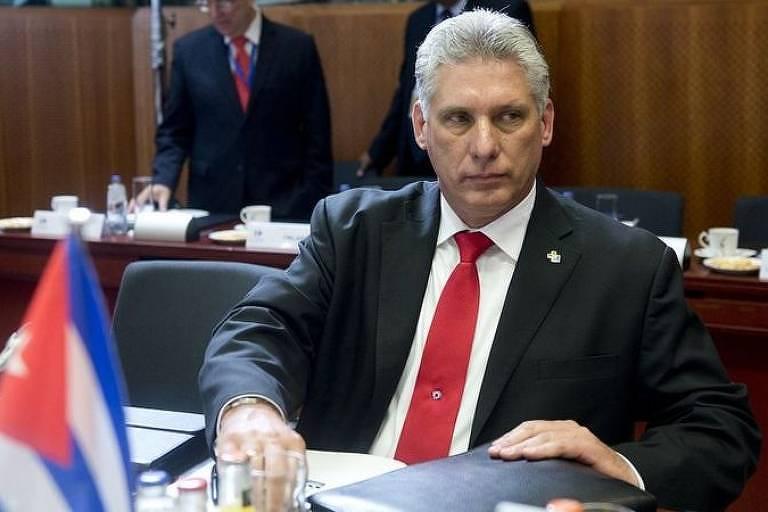 Líder cubano Miguel Díaz-Canel