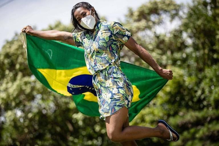 Ketleyn e Bruninho levarão bandeira do Brasil na abertura dos Jogos de Tóquio
