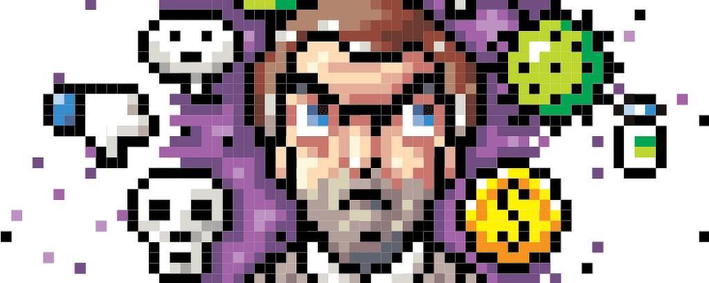Game Pixel Bolsonaro Ilustrada