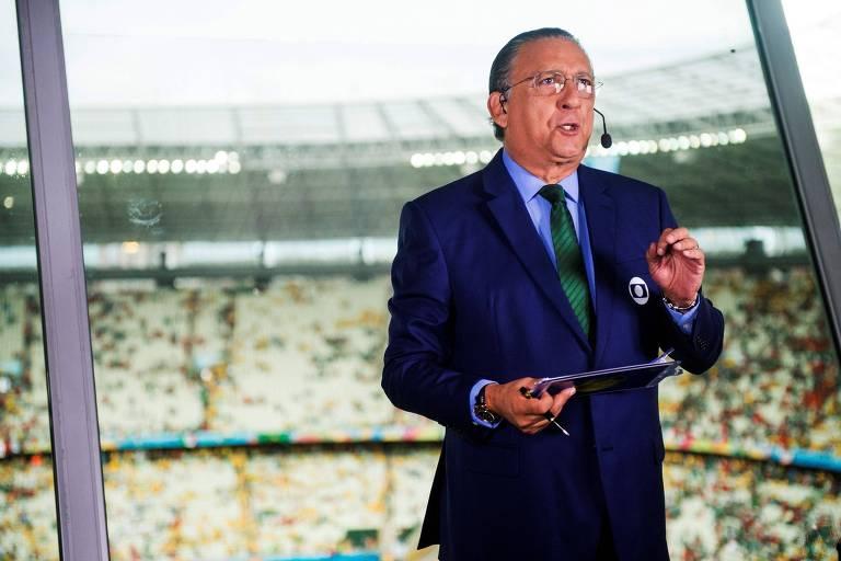 Galvão Bueno volta a narrar Brasil x Alemanha em Tóquio
