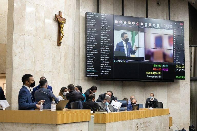 Sessão plenária de sábado (17) na Câmara Municipal de São Paulo