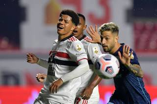 Copa Libertadores - Round of 16 - First leg - Sao Paulo v Racing Club
