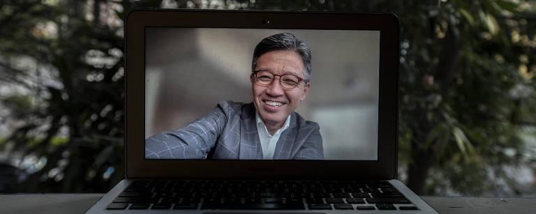 O presidente da Toyota para AméŽrica Latina, Massahiro Inoue