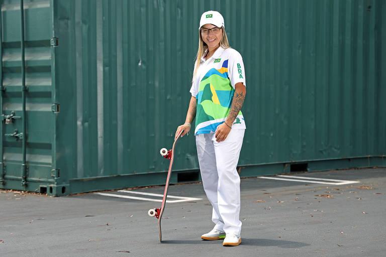 Favorita em Tóquio, Pâmela Rosa quer andar de skate também na Vila Olímpica
