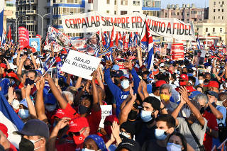 CUBA-HABANA-ACTO POLITICO-CULTURAL