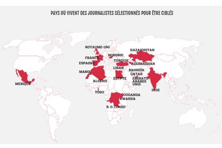 Da Arábia Saudita à Índia, governos usam spyware israelense contra jornalistas
