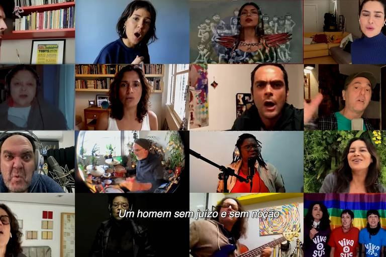 Artistas produzem manifesto musical pelo impeachment de Bolsonaro