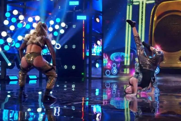 Paolla Oliveira dança funk ao som de Ludmilla no Super Dança dos Famosos