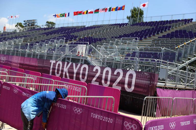 Brasileiro atua no 'quartel-general' anticrise dos Jogos de Tóquio
