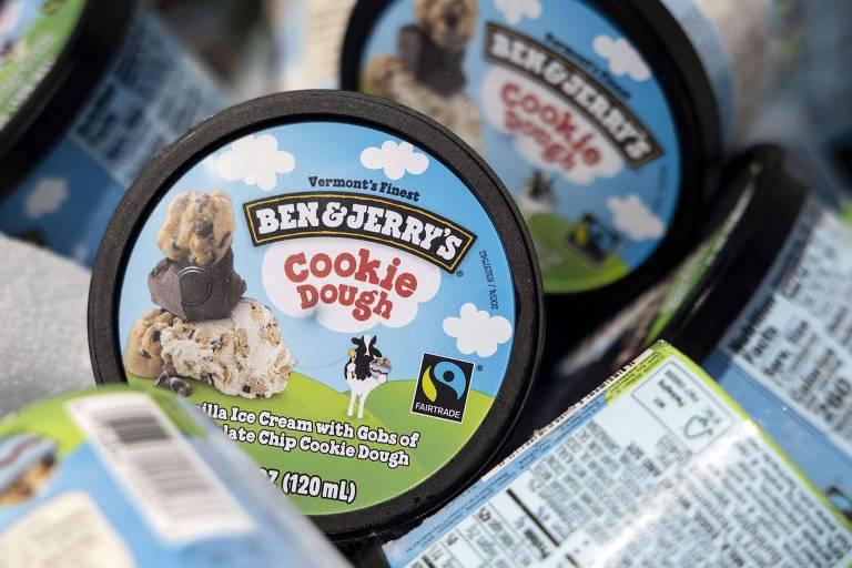 Sorvete Ben & Jerry's suspende vendas em mercados ligados ao conflito Israel-Palestina