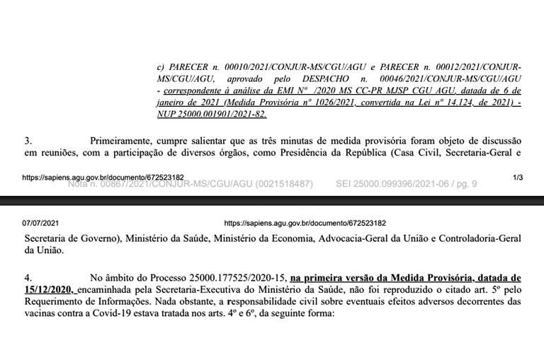 Documentos da CPI da Covid expõem papel de Guedes no atraso das vacinas
