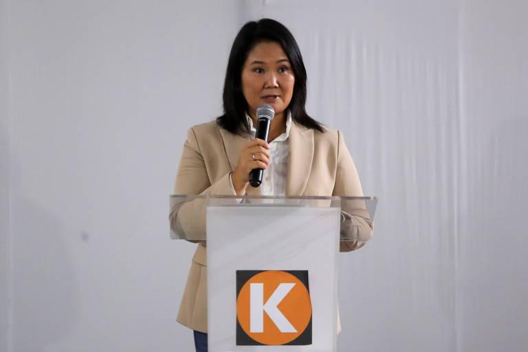 Keiko Fujimori diz que 'vai reconhecer' derrota para Castillo no Peru