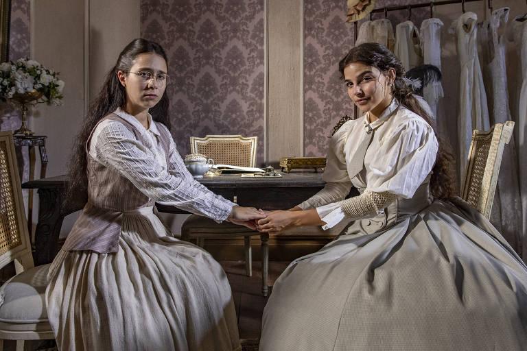 Amigas em 'Malhação' e 'As Five' serão irmãs em 'Nos Tempos do Imperador'