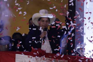 PERU-LIMA-PEDRO CASTILLO-PRESIDENT-ELECT