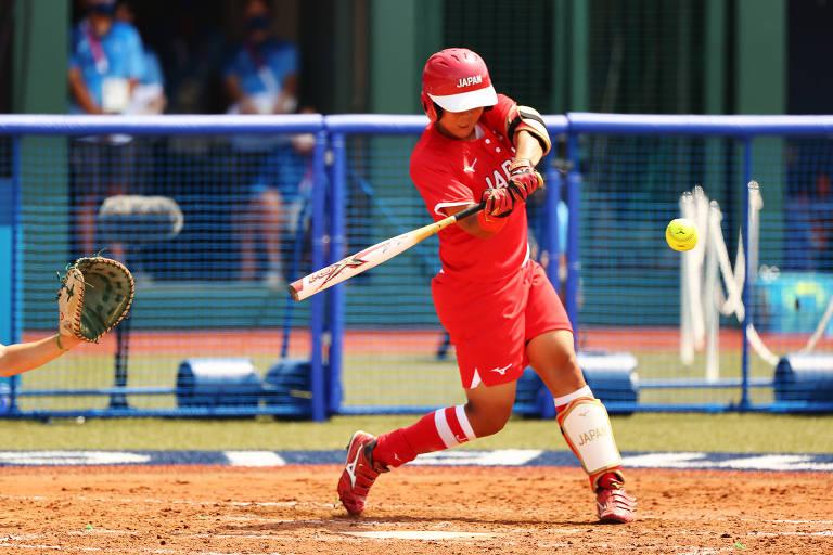 Jogos Olímpicos têm início com vitória do anfitrião Japão no softbol