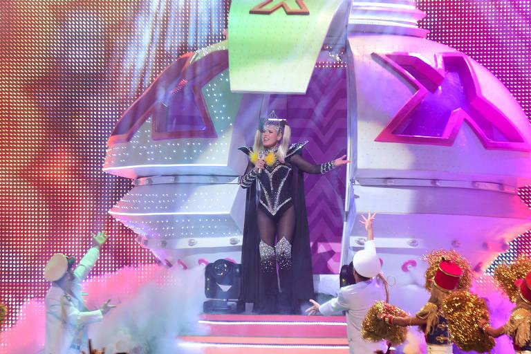 Xuxa se apresenta no Credicard Hall