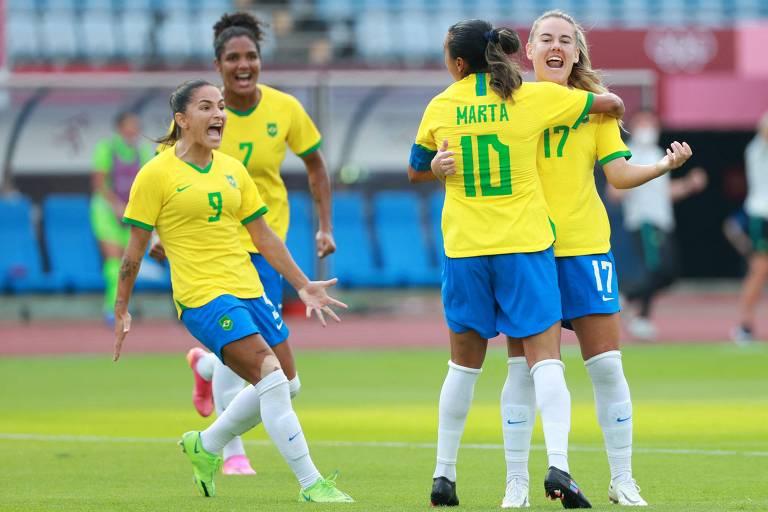Brasil estreia na Olimpíada contra China