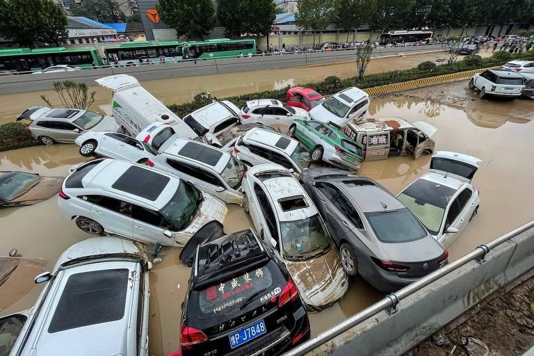 Pior chuva em 60 anos na China deixa ao menos 25 mortos e milhares de desabrigados