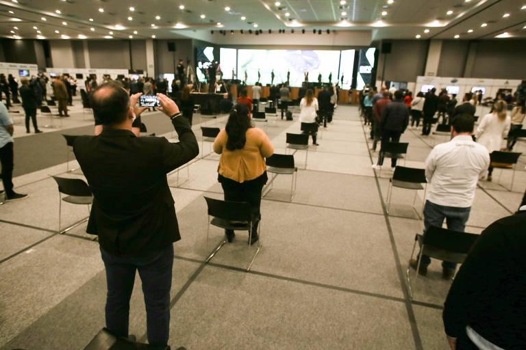 Estado de São Paulo realiza primeiro evento-teste para definir protocolos