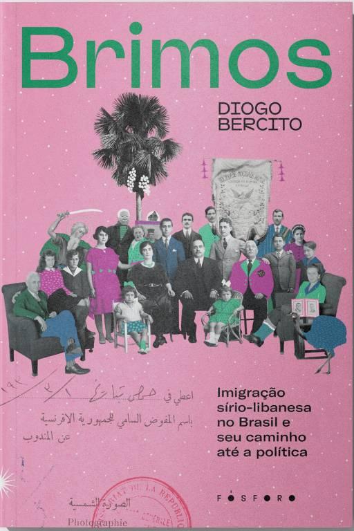 """Capa do livro """"Brimos"""", de Diogo Bercito, publicado em julho de 2021 pela editora Fósforo"""