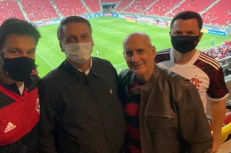 Fábio Faria, Bolsonaro, Luiz Eduardo Ramos e Anderson Torres