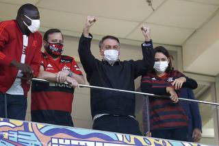 Copa Libertadores - Round of 16 - Second leg - Flamengo v Defensa y Justicia
