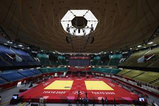 Tokyo 2020 Olympics -  Judo - Training Sessions