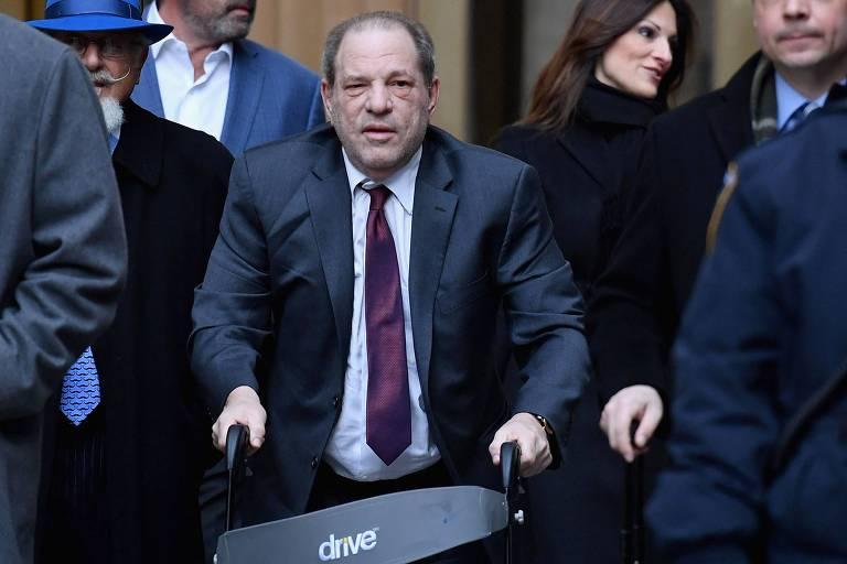 Harvey Weinstein nega novas acusações de abuso sexual e estupro, em Los Angeles