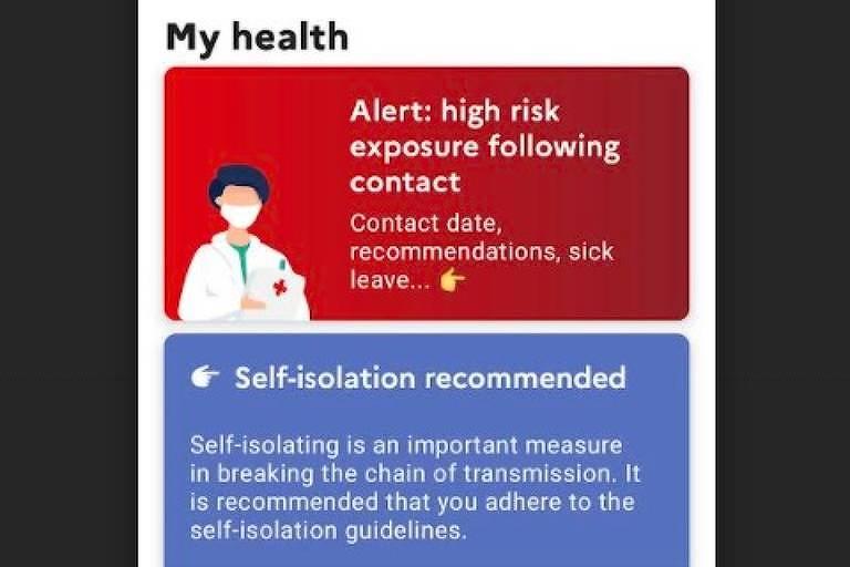 Alertas de isolamento via celular explodem na Inglaterra e causam 'pingdemia' de Covid-19