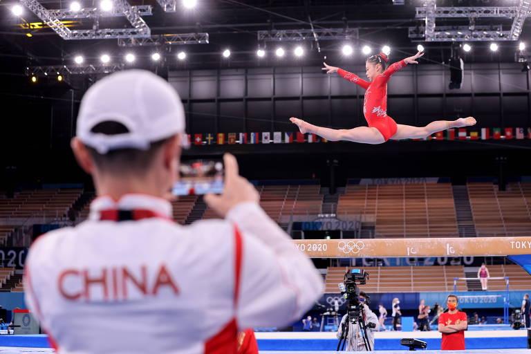A China na política olímpica