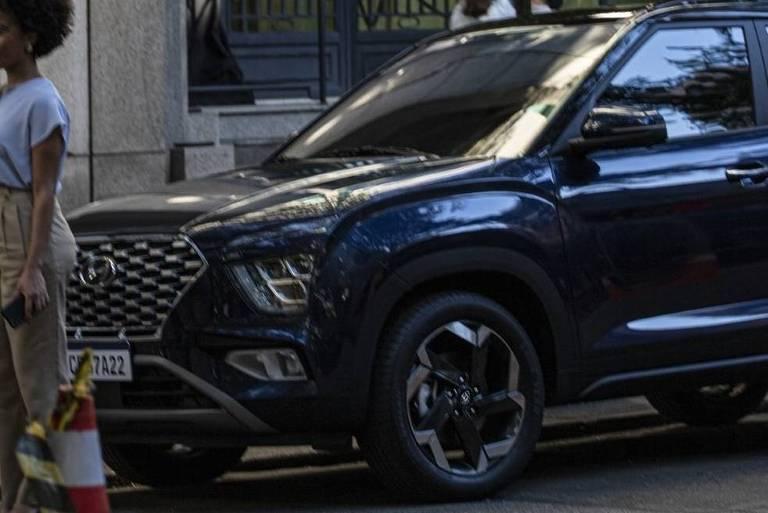 Flagra do novo Hyundai Creta 2022