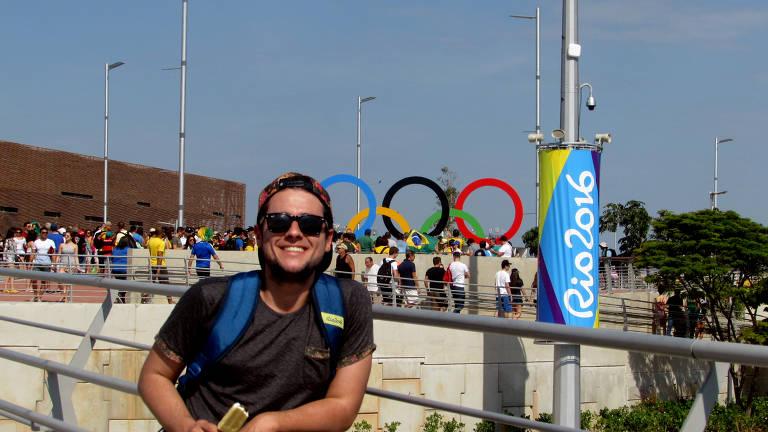 Pedro Muller  é advogado e tem 31 anos, ele é muito fã de olimpíadas e estava se preparando para ir até Tóquio