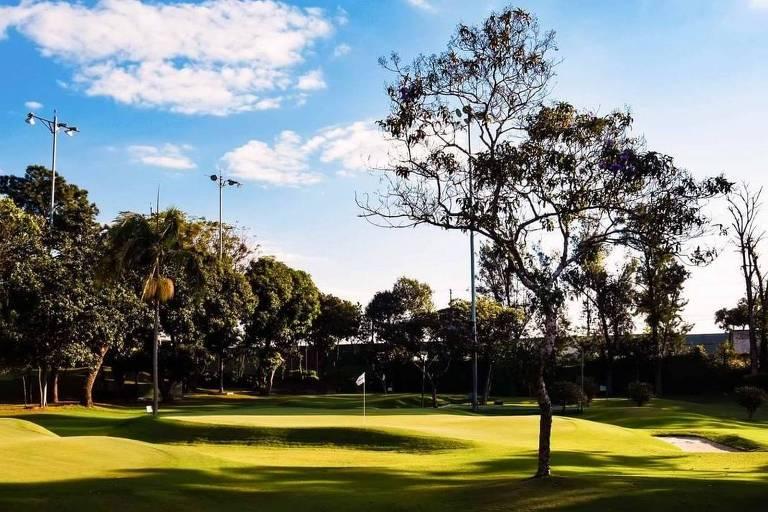 Campo do Honda Golfe Center, em São Paulo