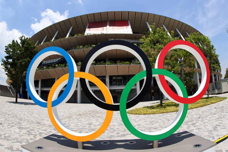 Estádio Olímpico de Tóquio, palco da abertura dos Jogos Olímpicos