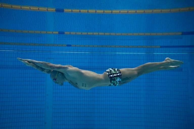 Selecionados sob pressão, nadadores brasileiros são postos à prova nas Olimpíadas