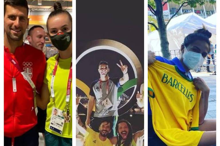 Atletas mostram rotina na Vila Olímpica