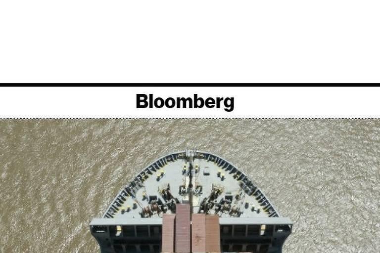 Topo de site da Bloomberg