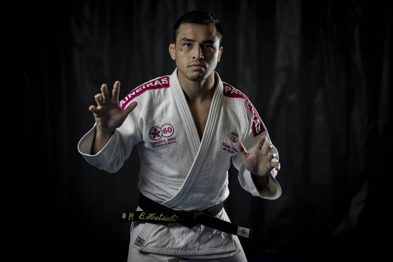 O judoca Eduardo Katsuhiro